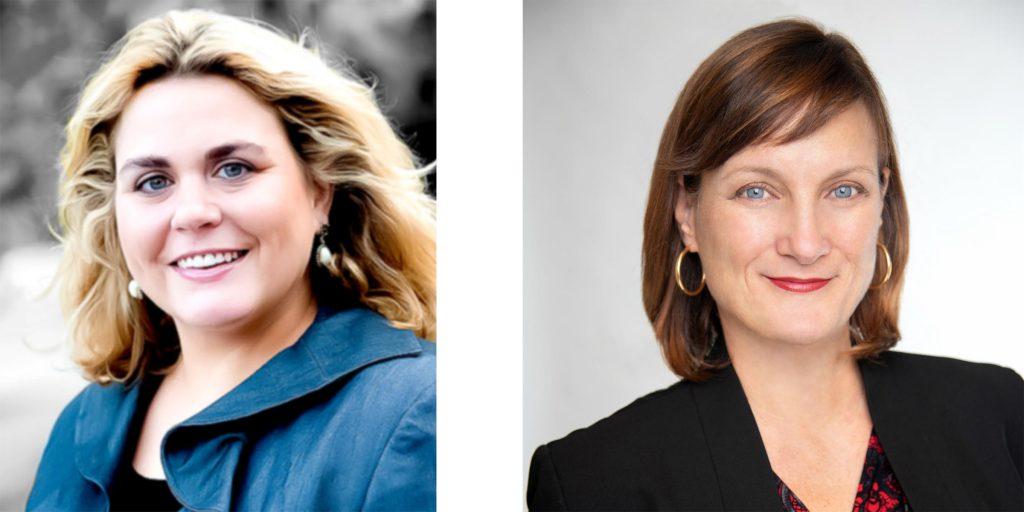 Laura Reis and Kathy Harrington-Sullivan